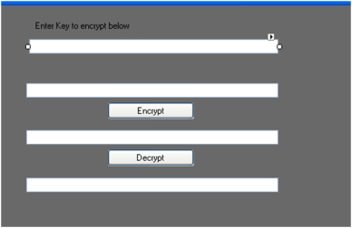 Triple DES Encryption and Decryption using User provided key