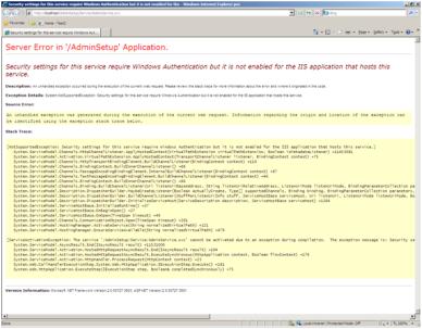 pass windows credentials to wcf service