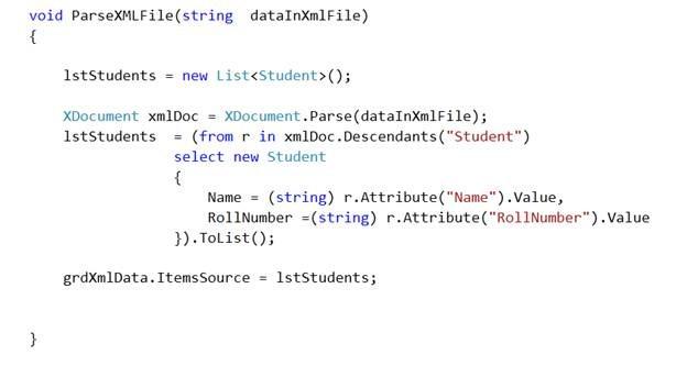 Binding XML File to Data Grid in Silverlight – Dhananjay Kumar