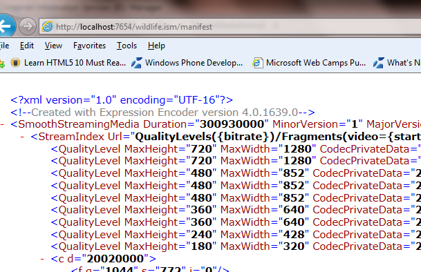 Smooth Streaming in Silverlight – Dhananjay Kumar