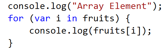assign value in javascript array