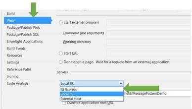 Publish WCF Service in Local IIS on Visual Studio 2013